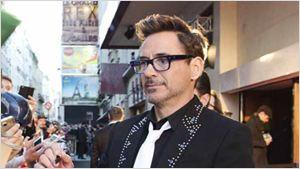 Captain America: Civil War : Robert Downey Jr. et la Team Iron Man sur le tapis rouge