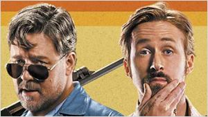 """Russell Crowe dans The Nice Guys : """"Ryan Gosling me fait vraiment rire"""""""