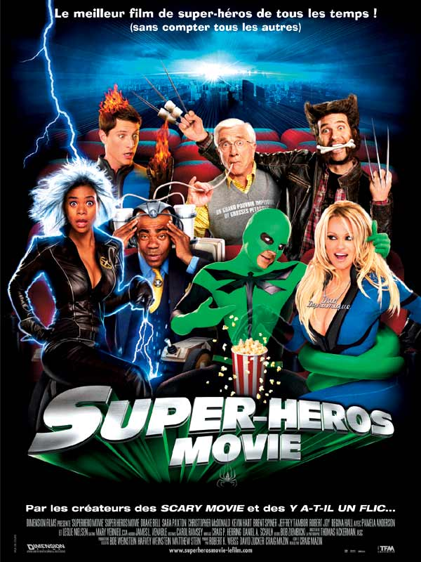 Affiche du film Super Héros Movie