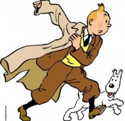 Affiche de la série Les Aventures de Tintin