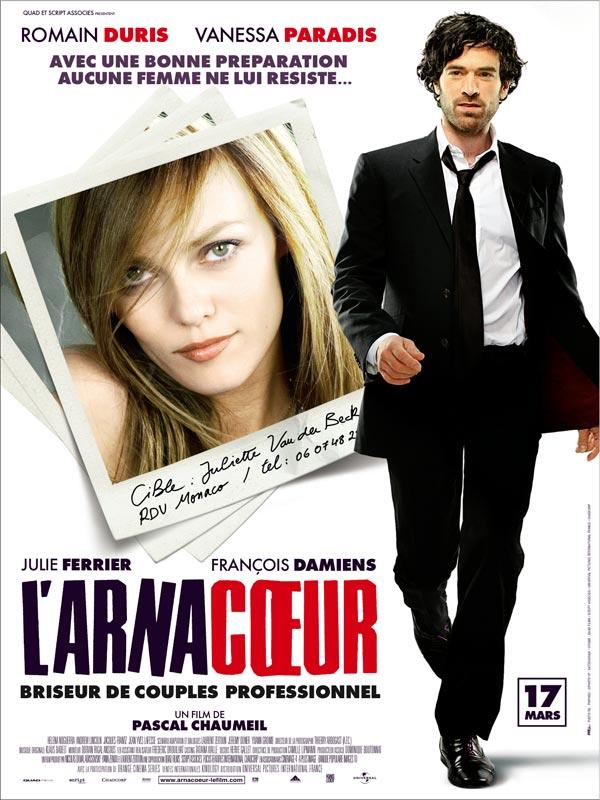 affiche film L'arnacoeur