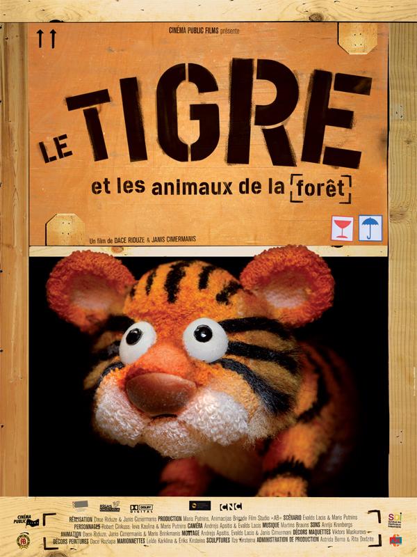 Le Tigre et les animaux de la forêt