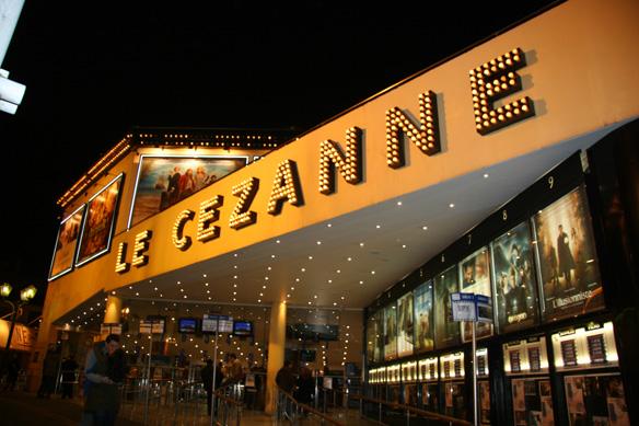 Le c zanne cin ma aix en provence programme for Cinema le club salon de provence