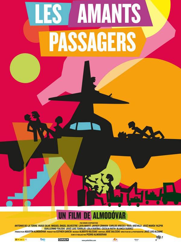Horaires séances du film Les Amants passagers à cournon d'auvergne