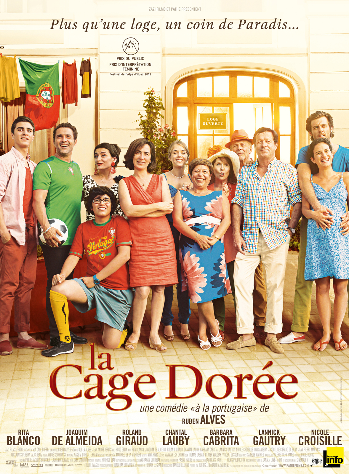 La Cage Dor�e | Multi | BRRiP | 2012 | 2CD