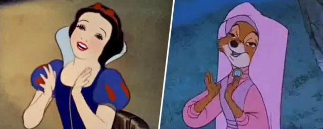 Baloo du Livre de la Jungle et Petit Jean de Robin des Bois ontils eu  ~ Parodie Robin Des Bois