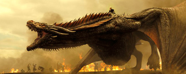 Game of Thrones : les dragons entrent en action sur les photos de la saison 7