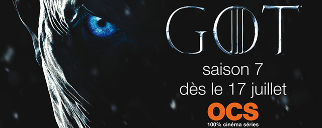 Game of Thrones : le Night King is Coming dans la nouvelle affiche de la saison 7