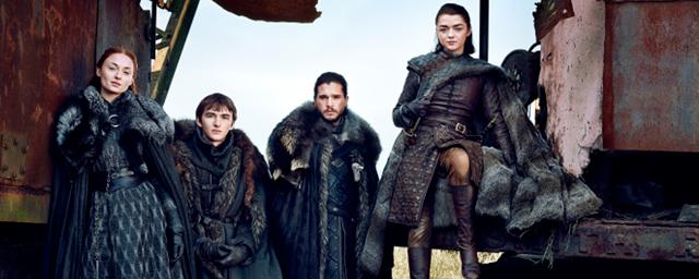 Game of Thrones : les Stark réunis pour la première fois par le magazine Entertainment Weekly