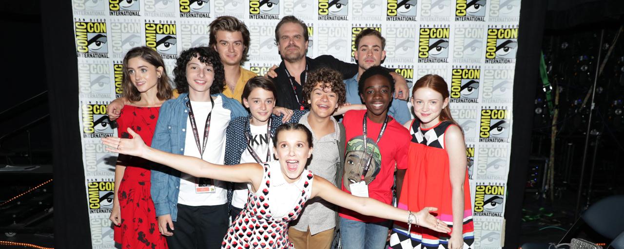 """Comic Con 2017 - Stranger Things : """"Nous sommes une bande de marginaux qui n'ont rien à faire à la télévision"""""""