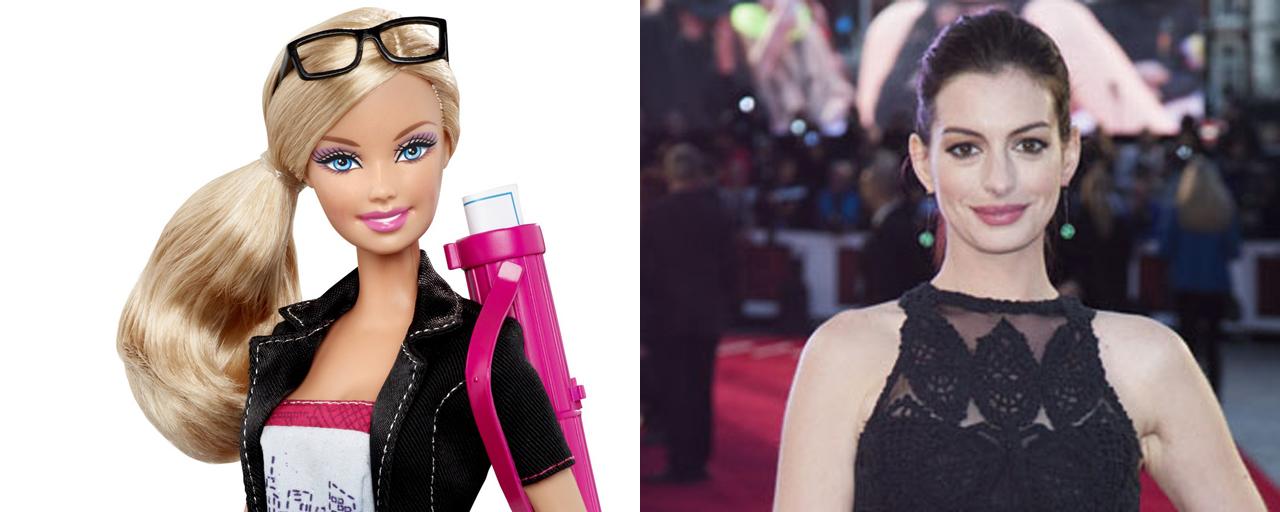 Barbie : Anne Hathaway va-t-elle incarner la poupée blonde ?