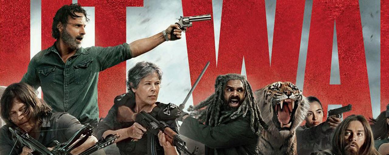 The Walking Dead: les héros de la saison 8 prennent la pose