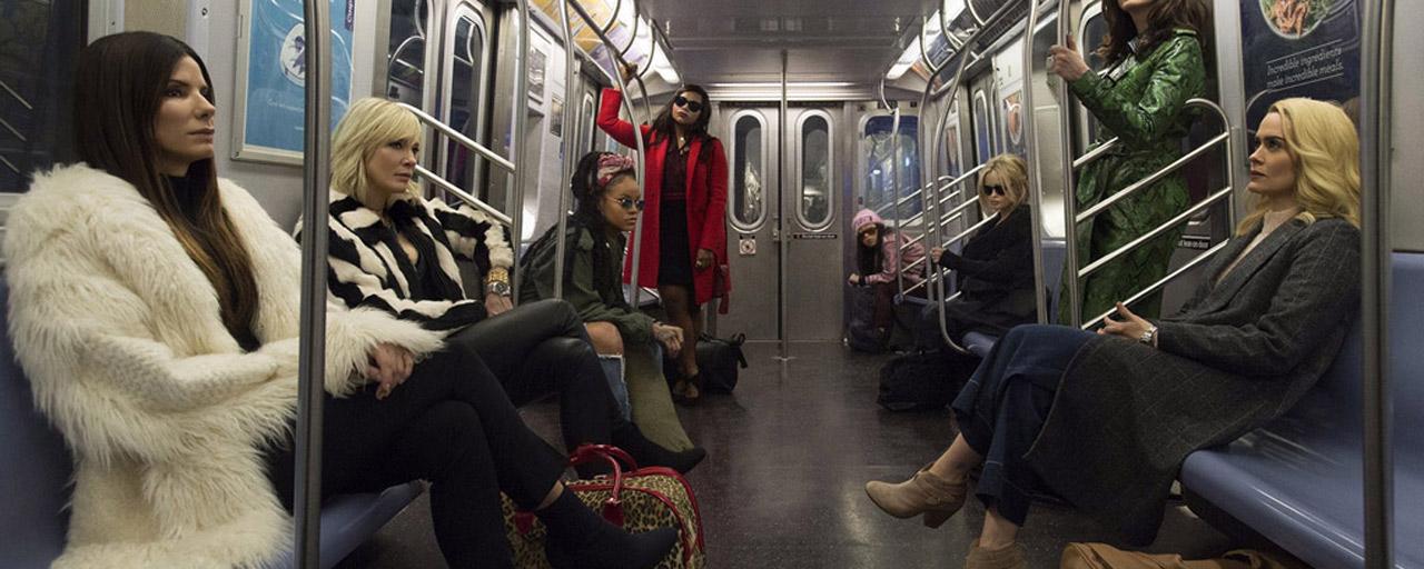Ocean's 8 : Sandra Bullock, Rihanna et les braqueuses sur l'affiche officielle