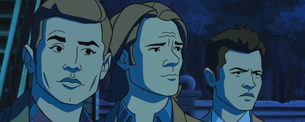 Supernatural : Le crossover avec Scooby-Doo se dévoile en images (forcément) très animées !