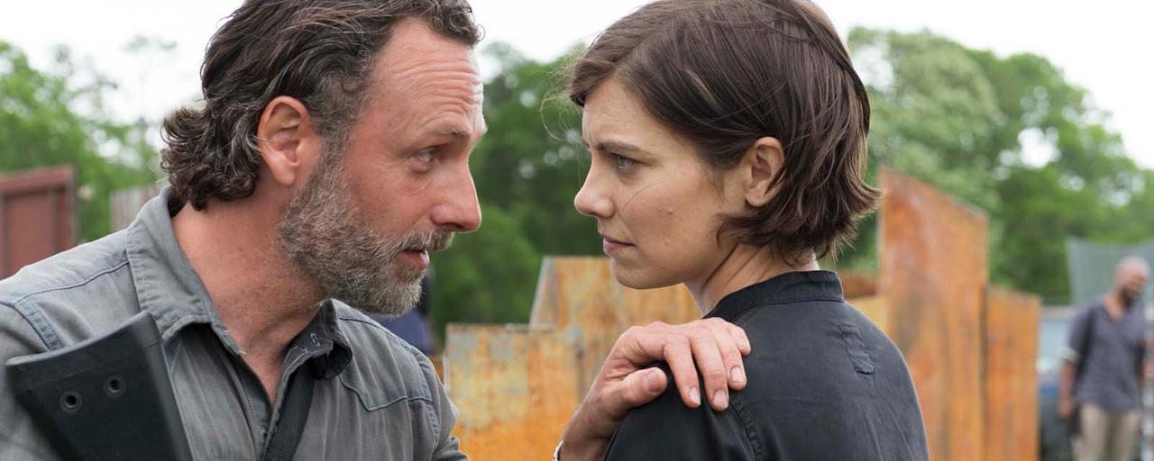 """The Walking Dead : Andrew Lincoln serait """"surpris"""" que Lauren Cohan ne revienne pas pour la saison 9"""