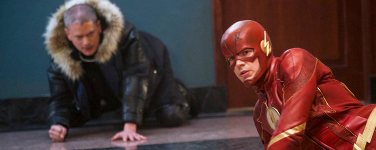 Flash: Wentworth Miller de retour sur les photos du prochain épisode