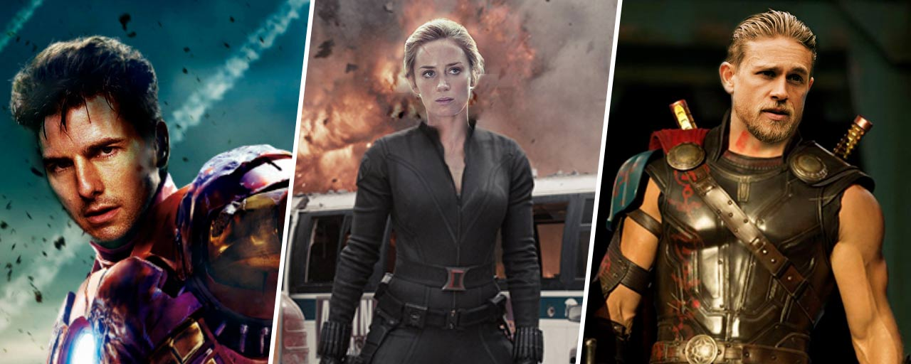 Tom Cruise, Emily Blunt, Charlie Hunnam... Ils ont failli incarner les Avengers