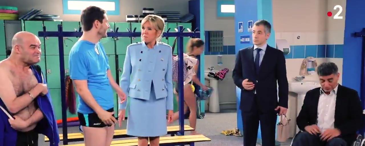 Brigitte Macron en guest dans une série de France 2 : découvrez les premières images !