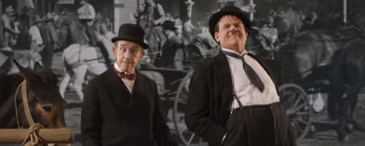 Laurel et Hardy : découvrez la bande-annonce du biopic avec John C Reilly et Steve Coogan