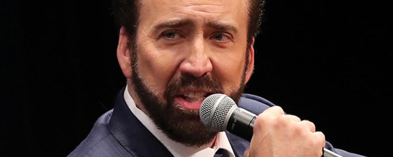 """Nicolas Cage : """"C'est le Capitaine Némo, plus que tout autre rôle, que j'aimerais avoir la chance d'interpréter un jour"""""""