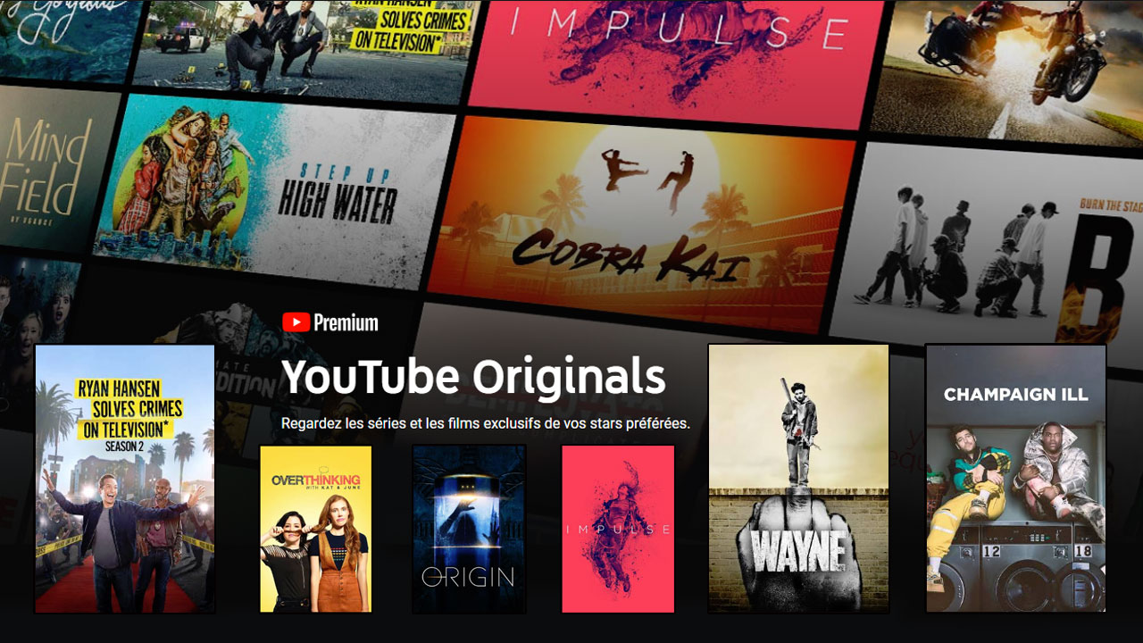 YouTube Originals : Weird City, 12 deadly days... Quelles séries regarder ?