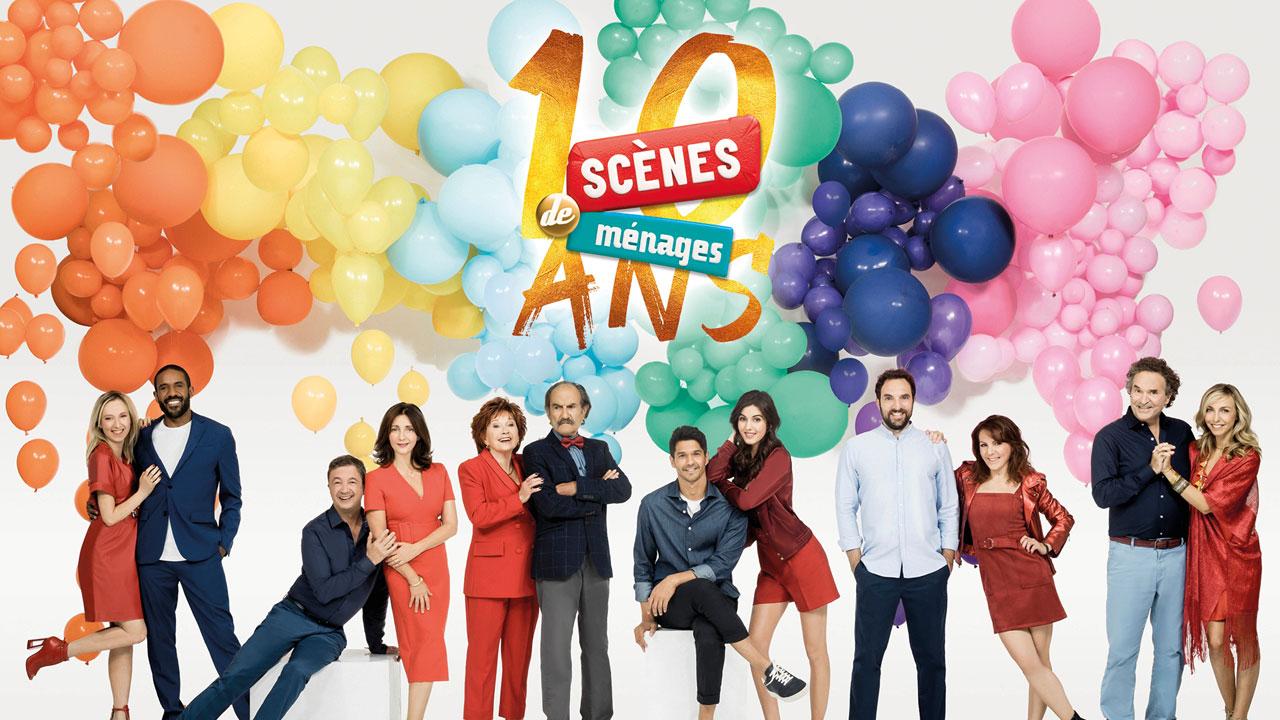 Scènes de Ménages : un prime exceptionnel pour les 10 ans de la série