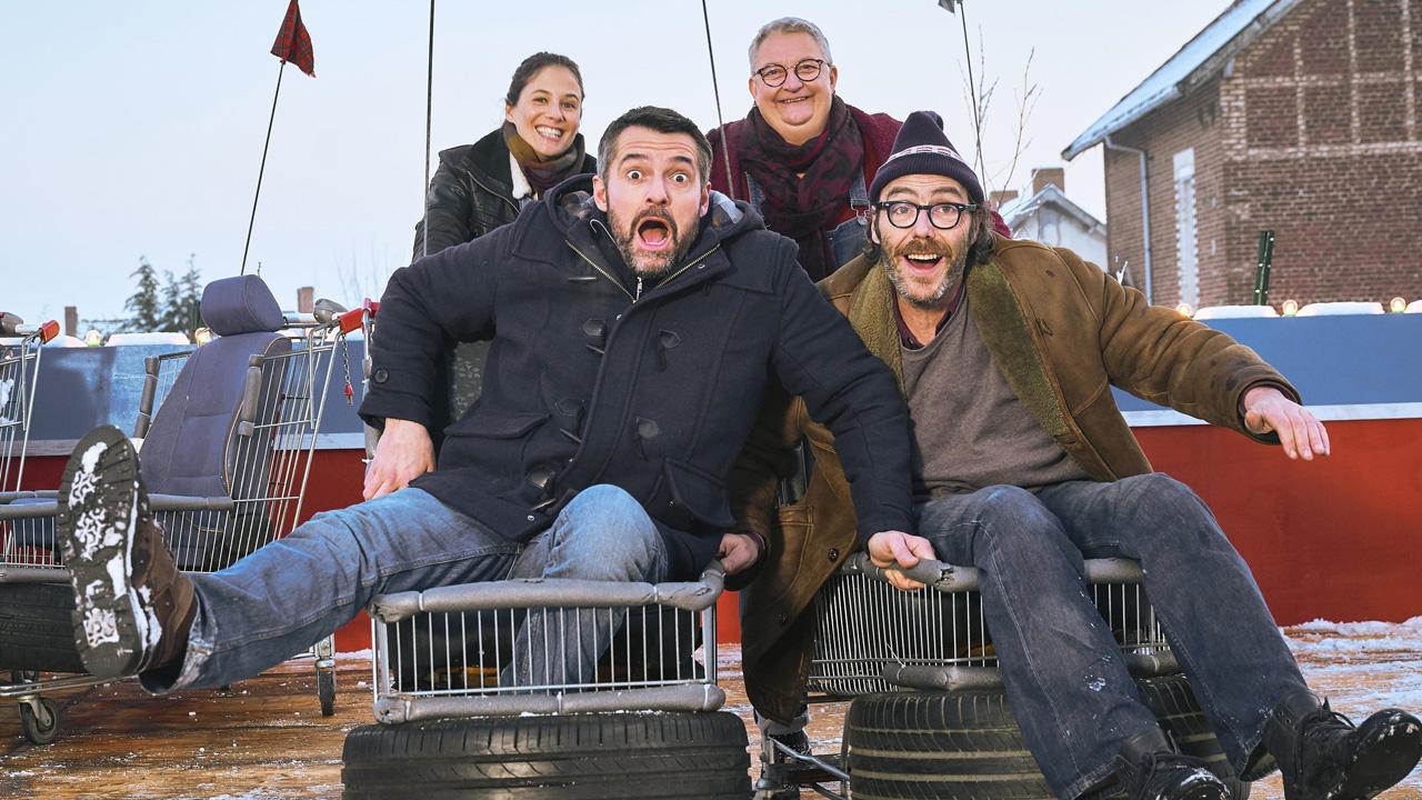 Mine de rien : Arnaud Ducret et Mélanie Bernier parlent de la comédie sociale, prix du public à l'Alpe d'Huez