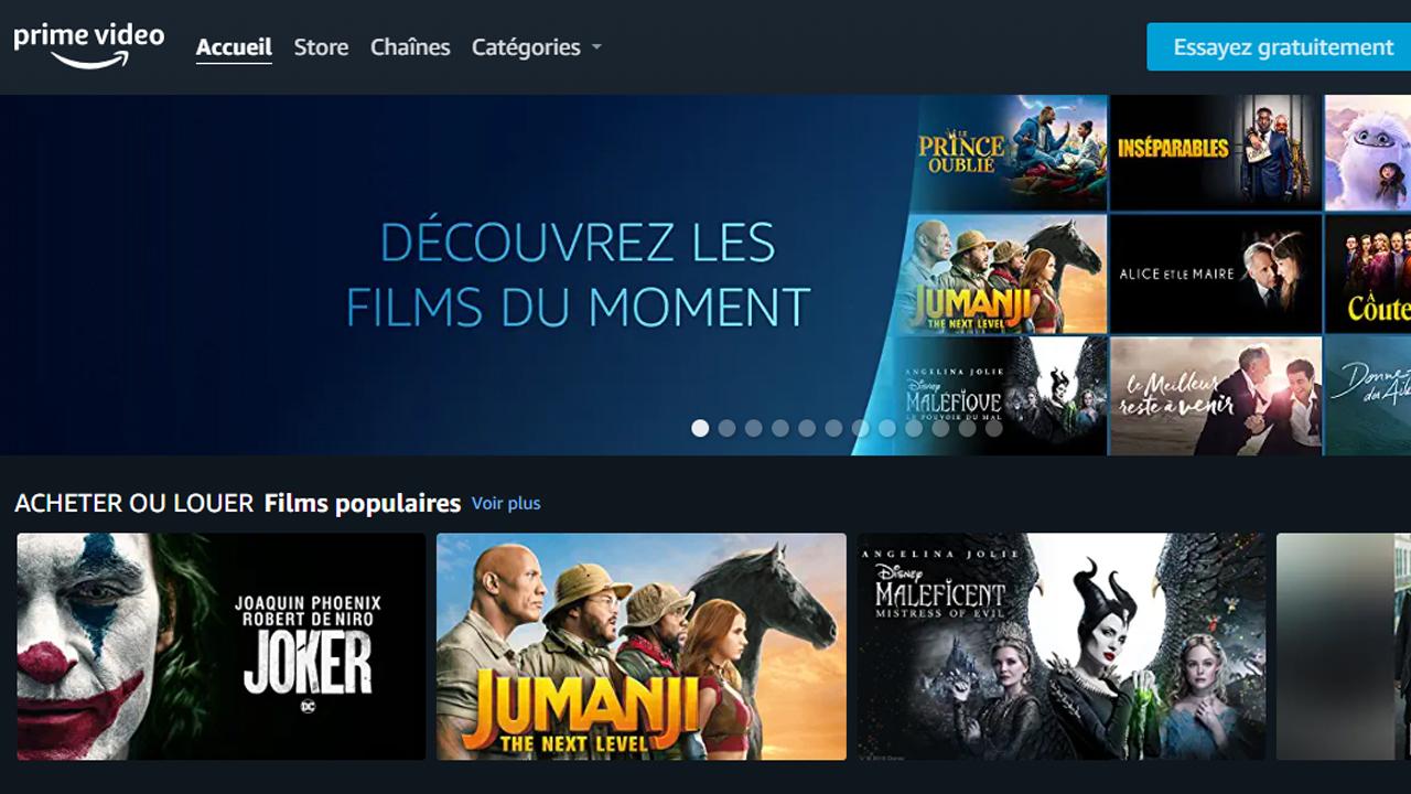 VOD : Amazon Prime Video lance son service en France