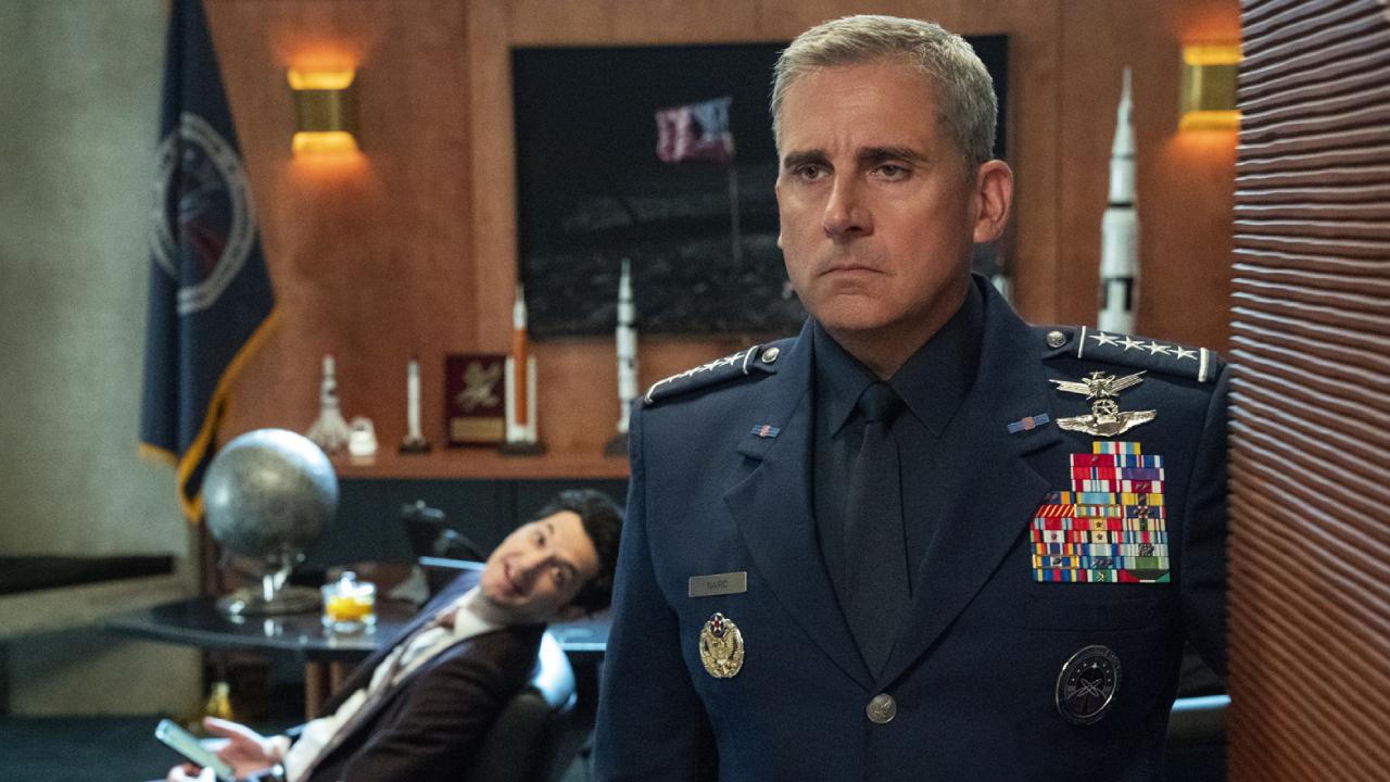 Space Force sur Netflix : la série est inspirée de... Donald Trump !
