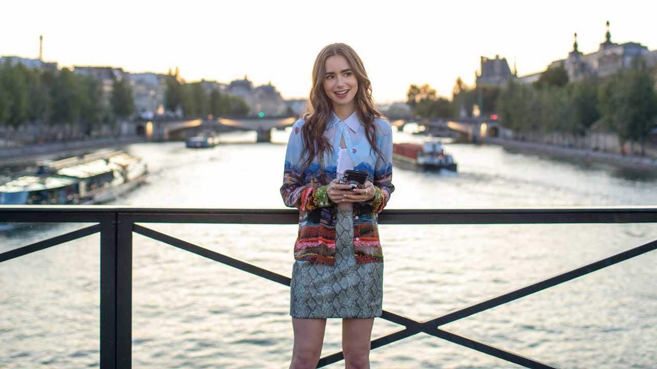 Emily In Paris sur Netflix : l'autre lien de Lily Collins avec la France