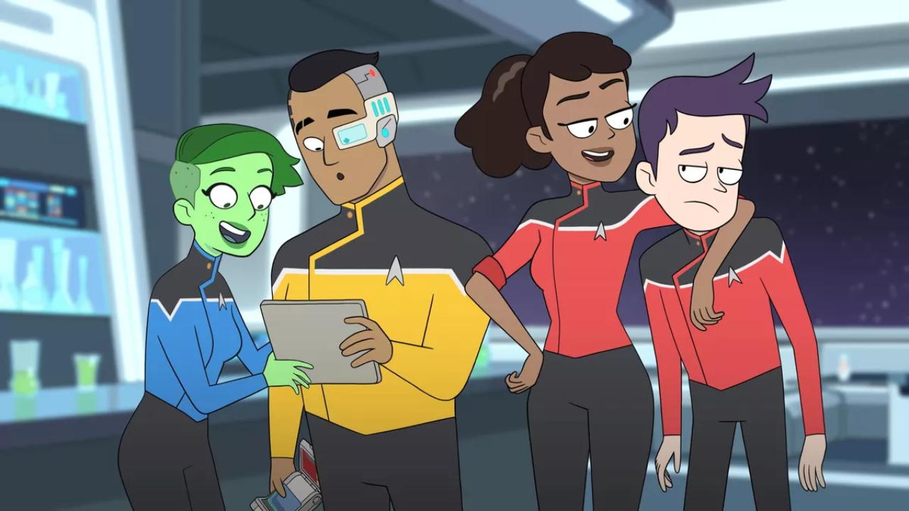 Lower Decks sur Amazon : c'est quoi cette série animée Star Trek ?
