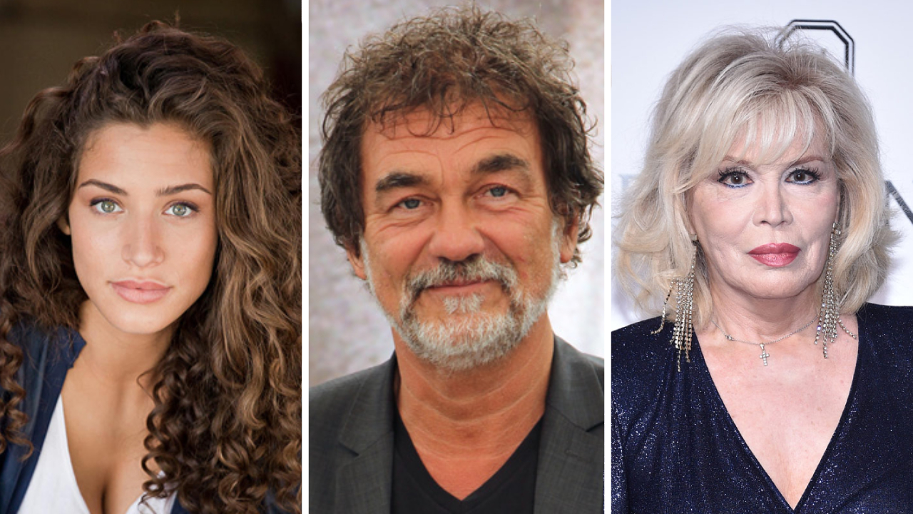 Manon Azem, Olivier Marchal, et Amanda Lear dans la nouvelle série d'OCS HashtagBoomer [EXCLU]