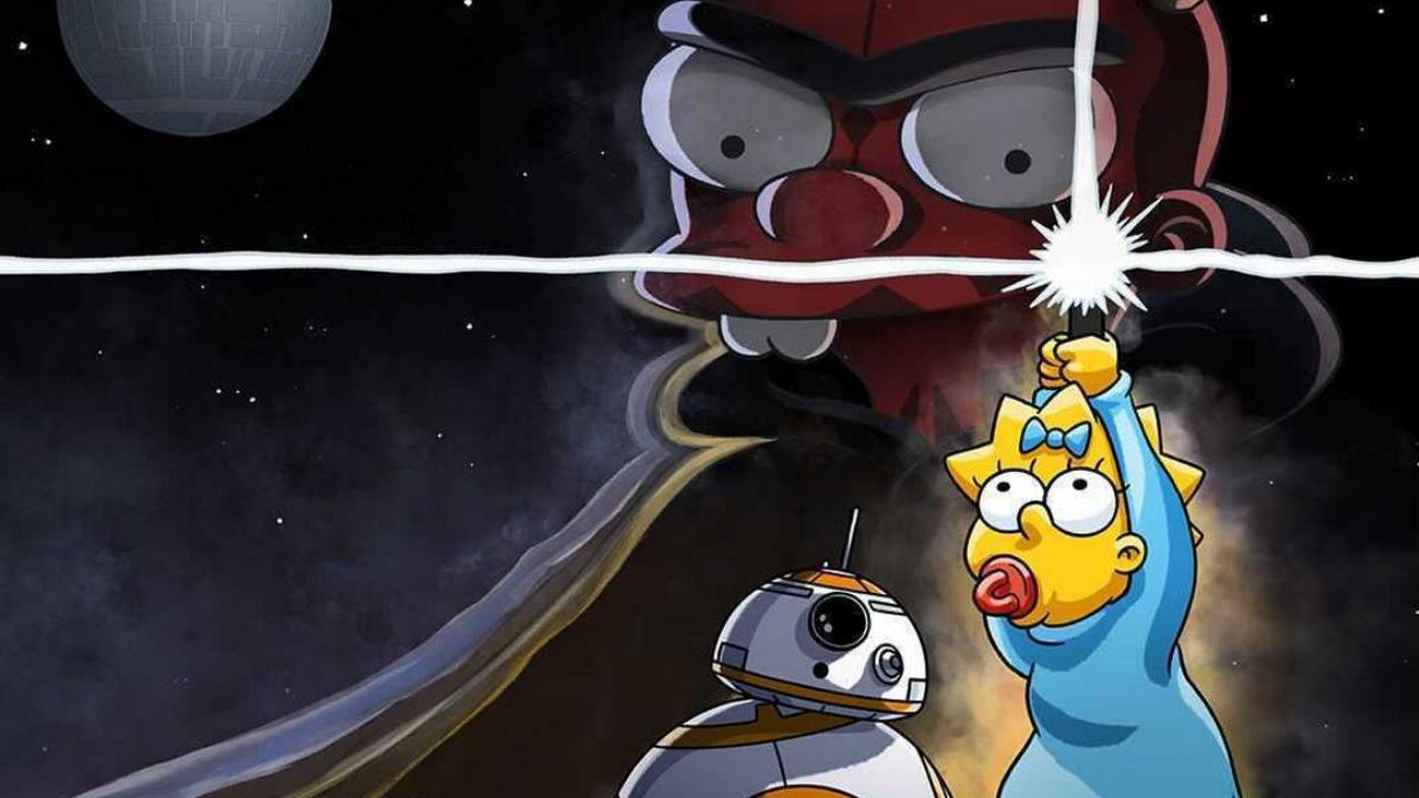 Star Wars Day : Disney+ dévoile un court métrage parodique des Simpson
