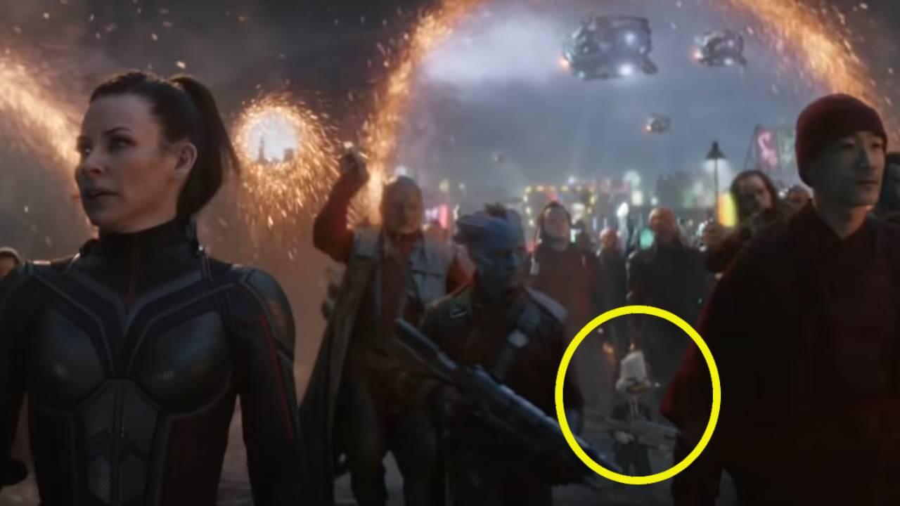 Avengers Endgame : ce héros Marvel que personne n'avait remarqué à la fin du film