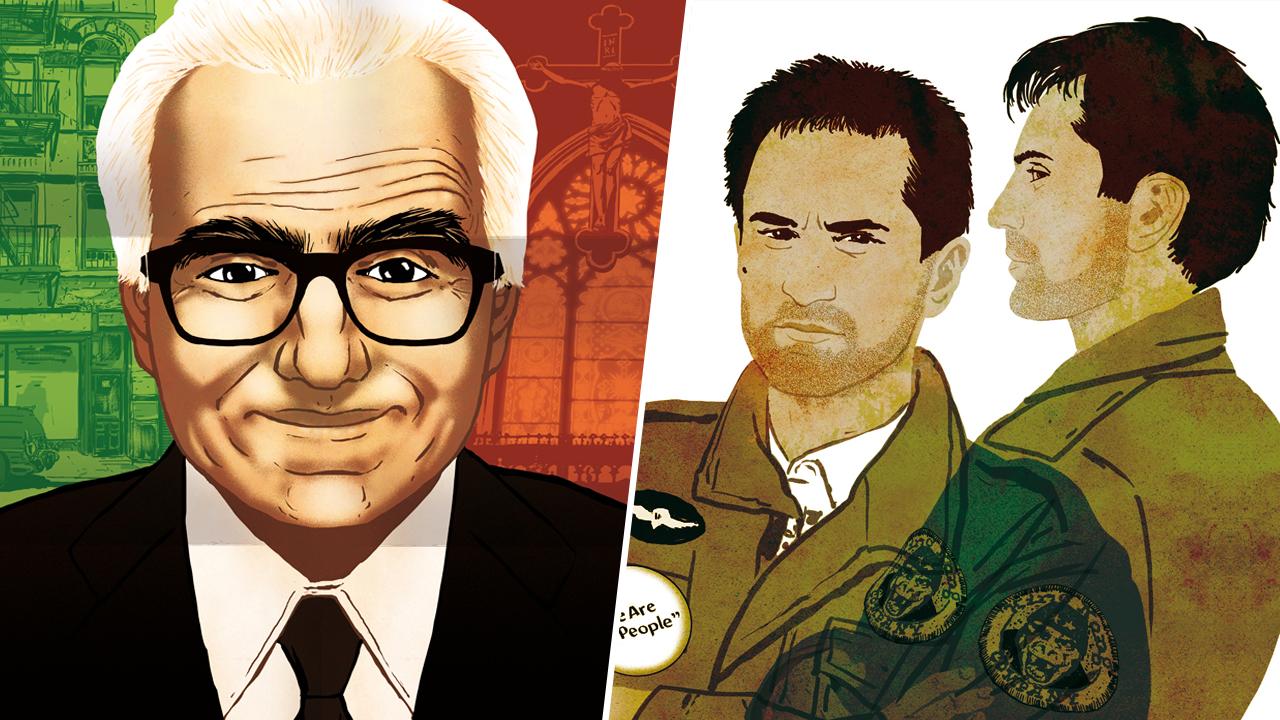 Martin Scorsese : le sublime roman graphique d'Améziane qui retrace la vie du réalisateur
