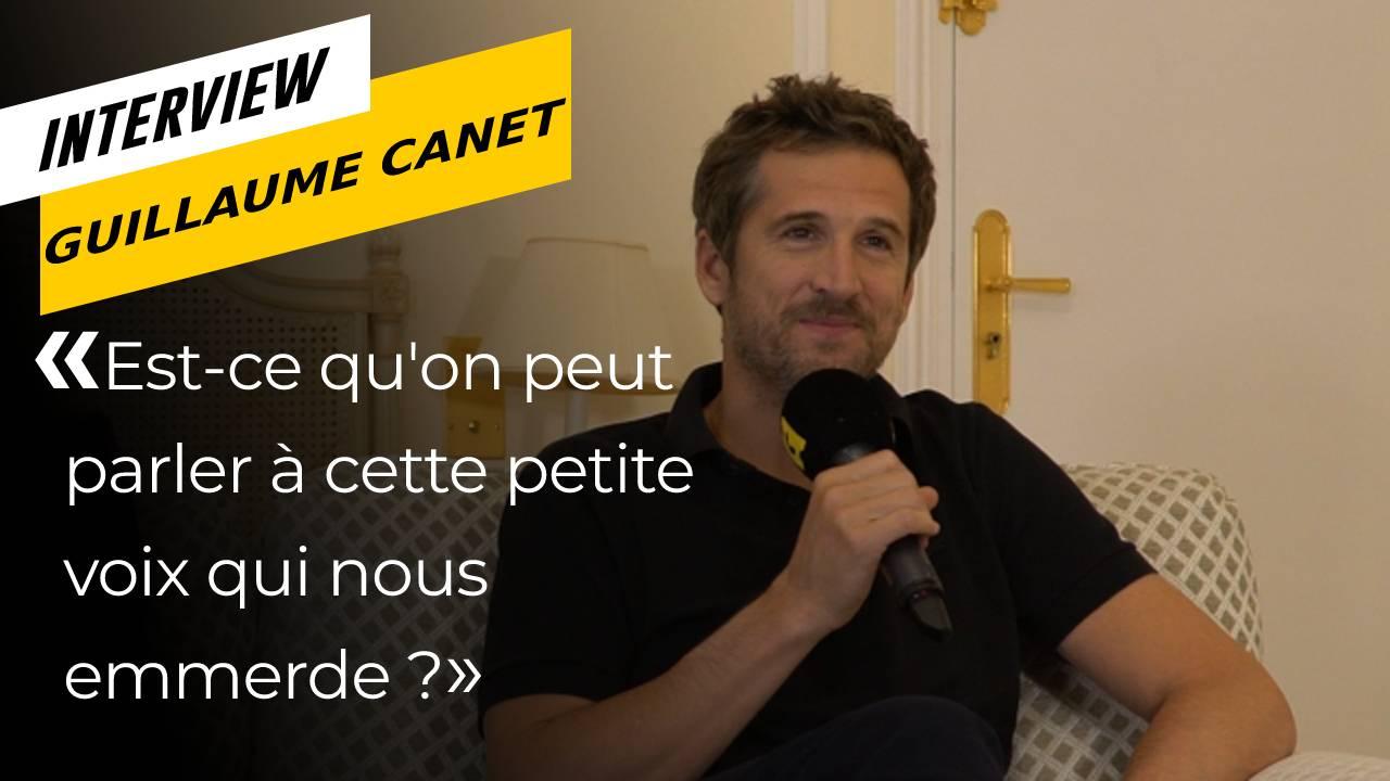 """Lui par Guillaume Canet : """"Est-ce qu'on peut parler à cette petite voix qui nous emmerde ?"""""""