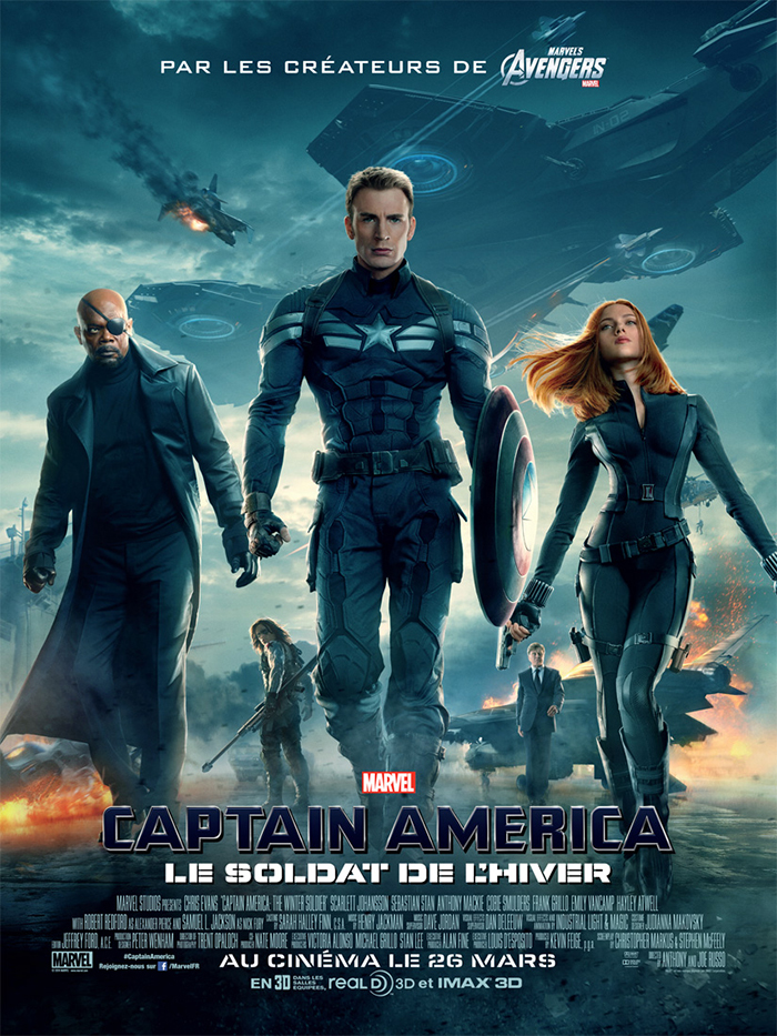Captain America, le soldat de l'hiver Streaming