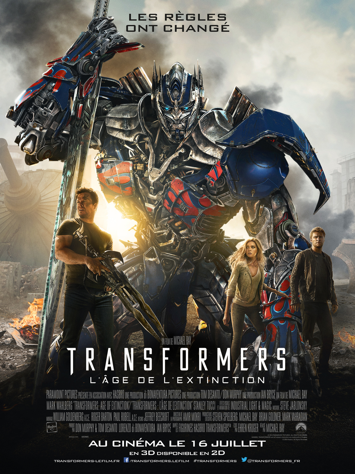 Transformers : l'�ge de l'extinction | Multi | 2CD | BDRiP | 2014