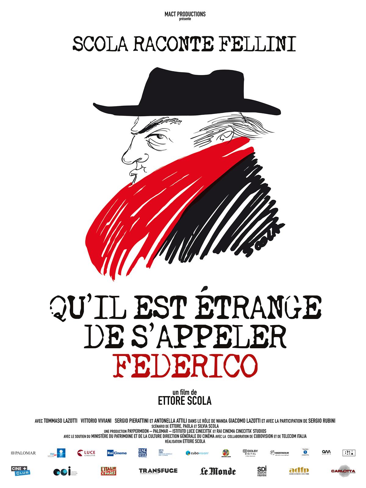 Image du film Qu'il est étrange de s'appeler Federico