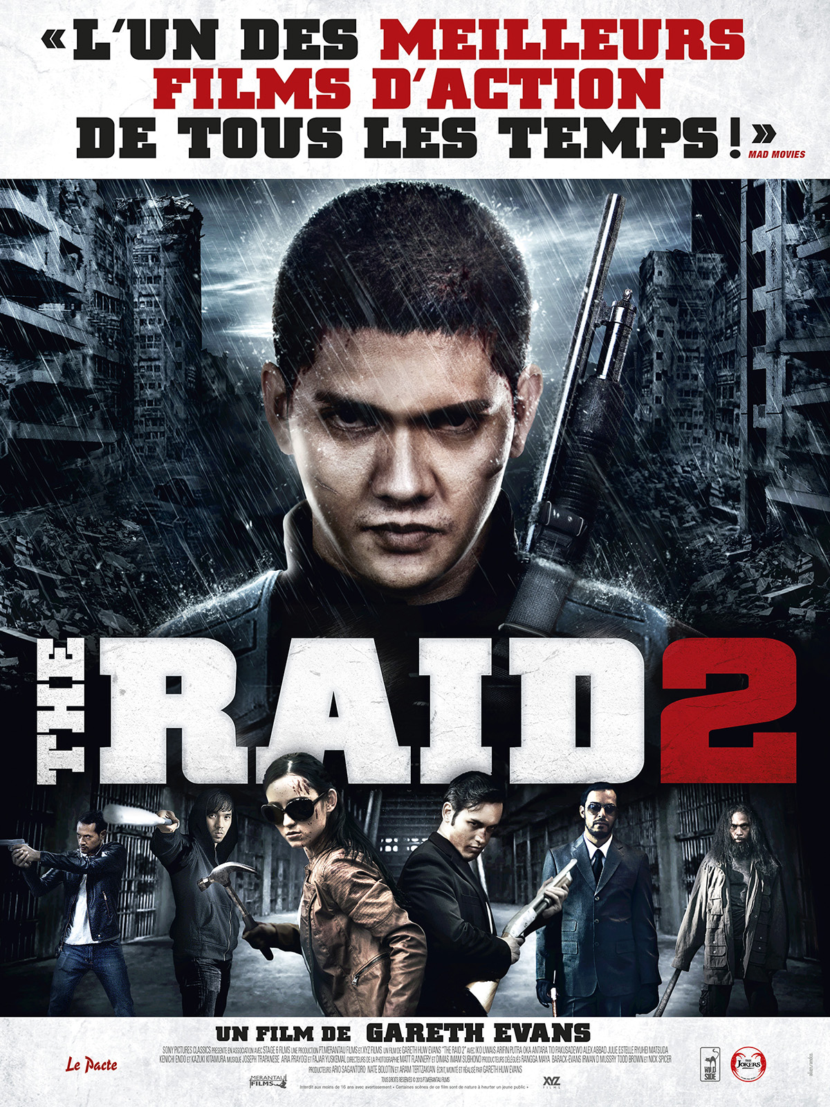the raid 2 film 2014 allocin. Black Bedroom Furniture Sets. Home Design Ideas