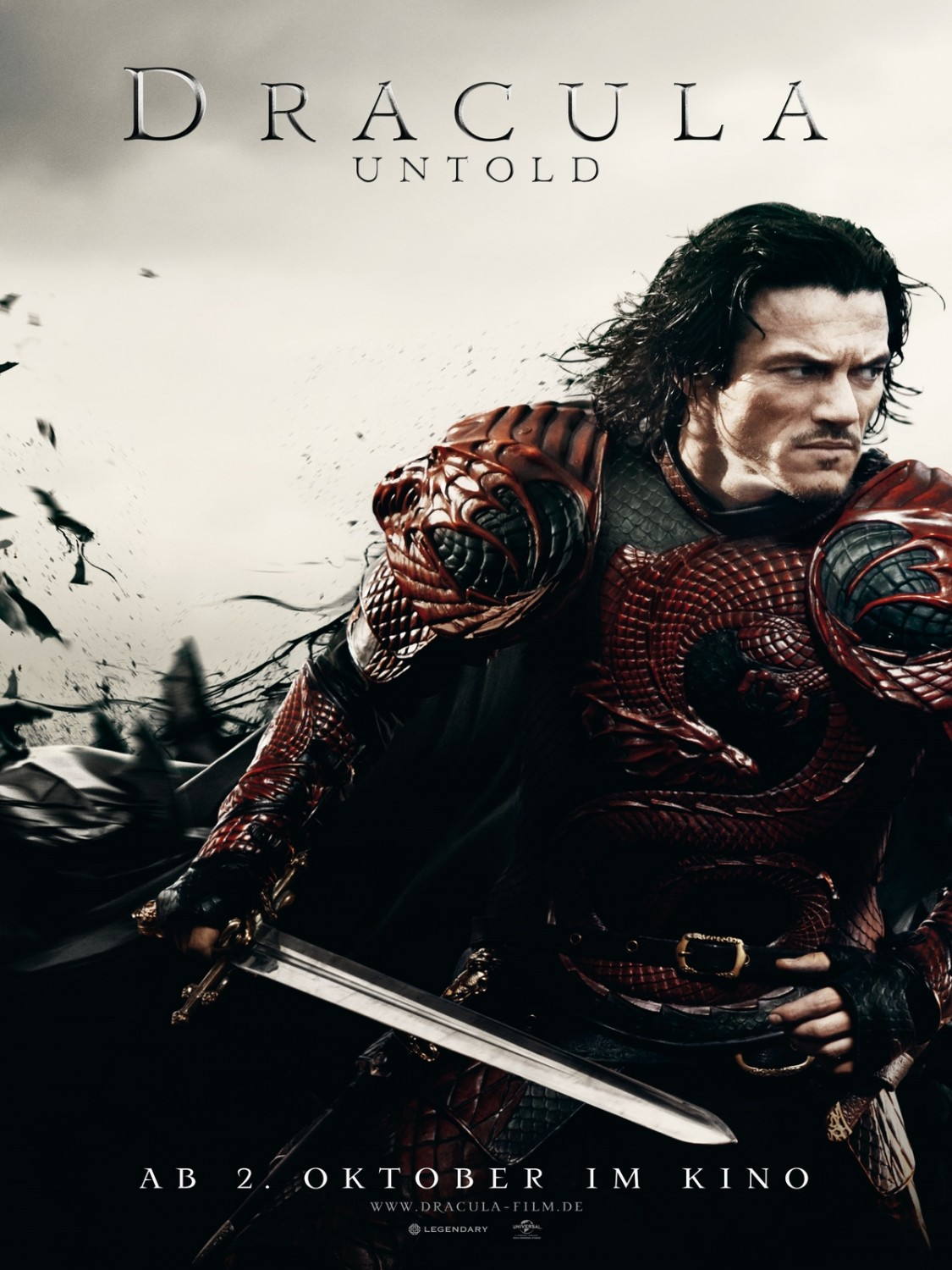 dracula untold affiche allocin. Black Bedroom Furniture Sets. Home Design Ideas
