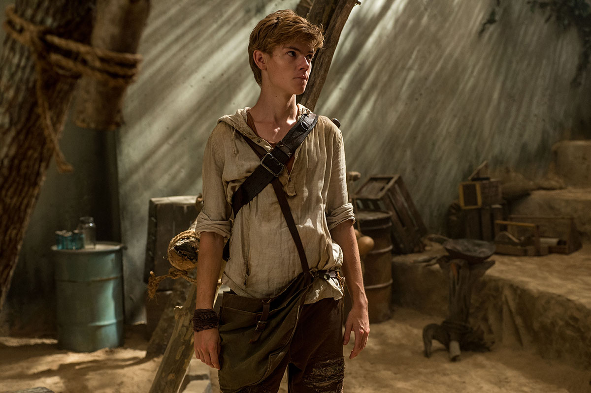 Photo de thomas brodie sangster dans le film le labyrinthe for Dans x