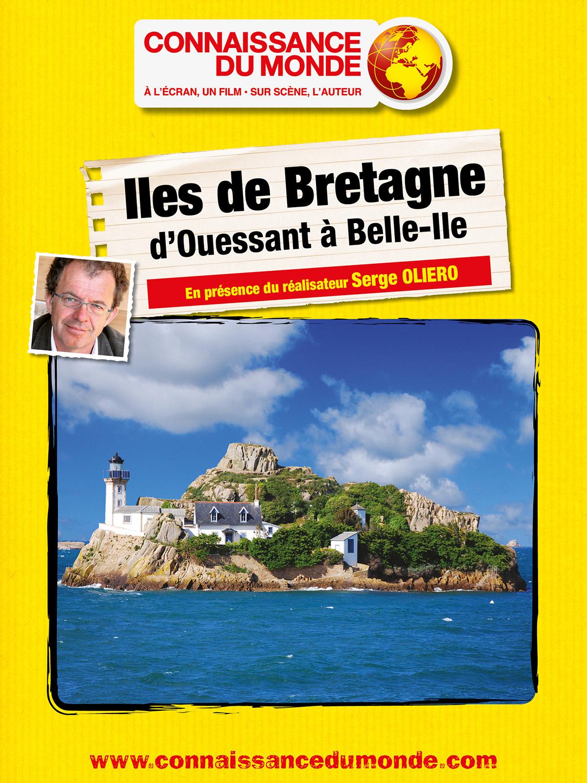 Iles de Bretagne - d'Ouessant à Belle-Ile