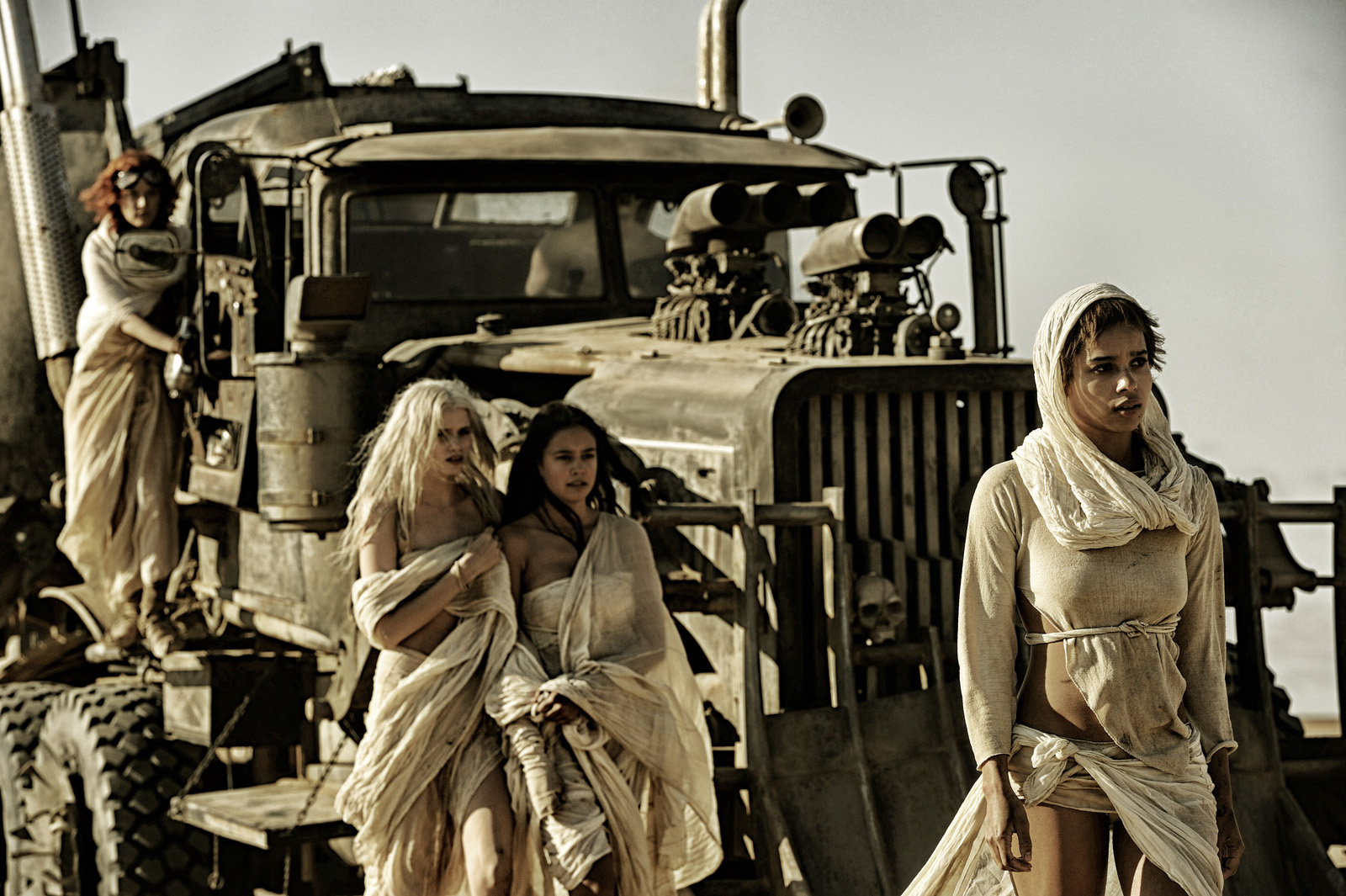 Photo de Zoë Kravitz dans le film Mad Max: Fury Road ...