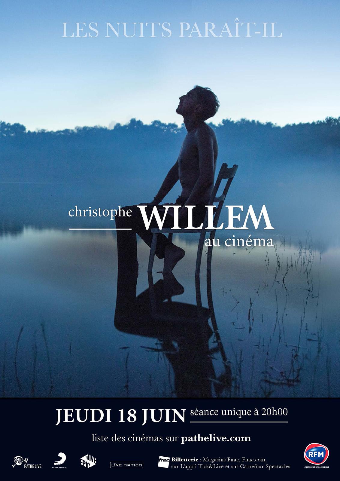 Christophe Willem (Pathé Live)
