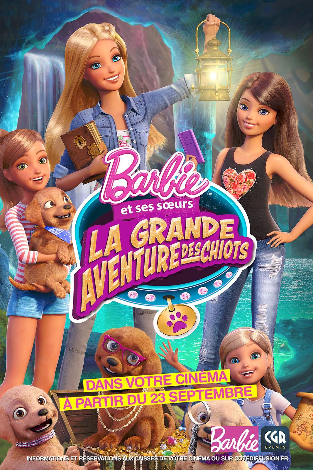 Barbie - La grande aventure des chiots (CGR Events)