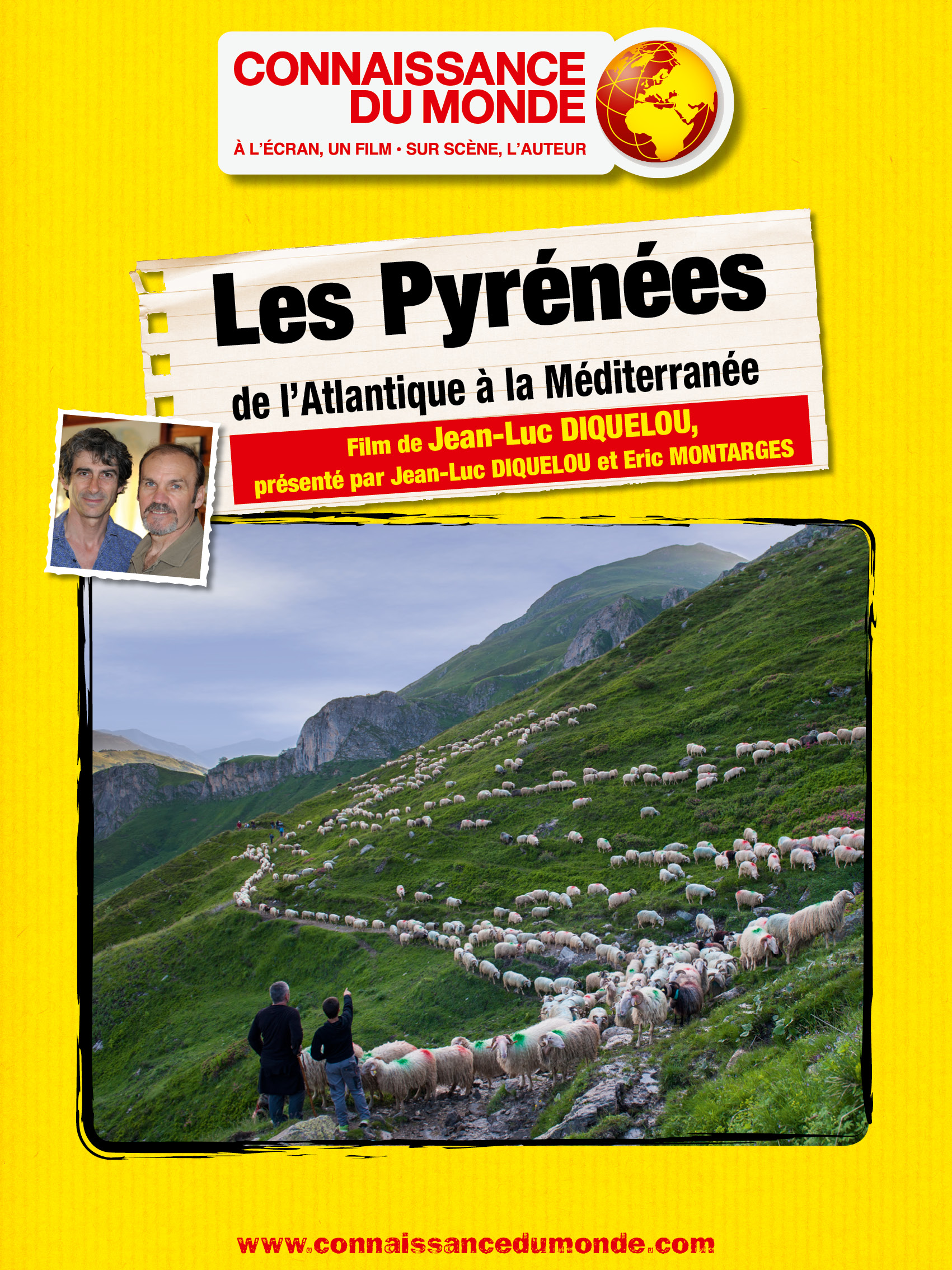 Les Pyrénées, De l'Atlantique à la Méditerranée