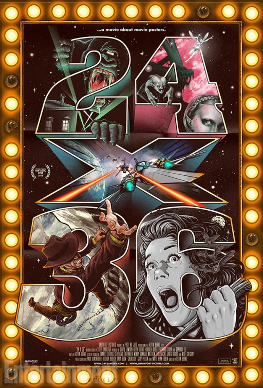 telecharger 24X36: A Movie About Movie Posters DVDRIP Complet