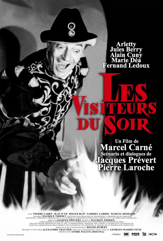 telecharger Les Visiteurs du soir HDLight Français