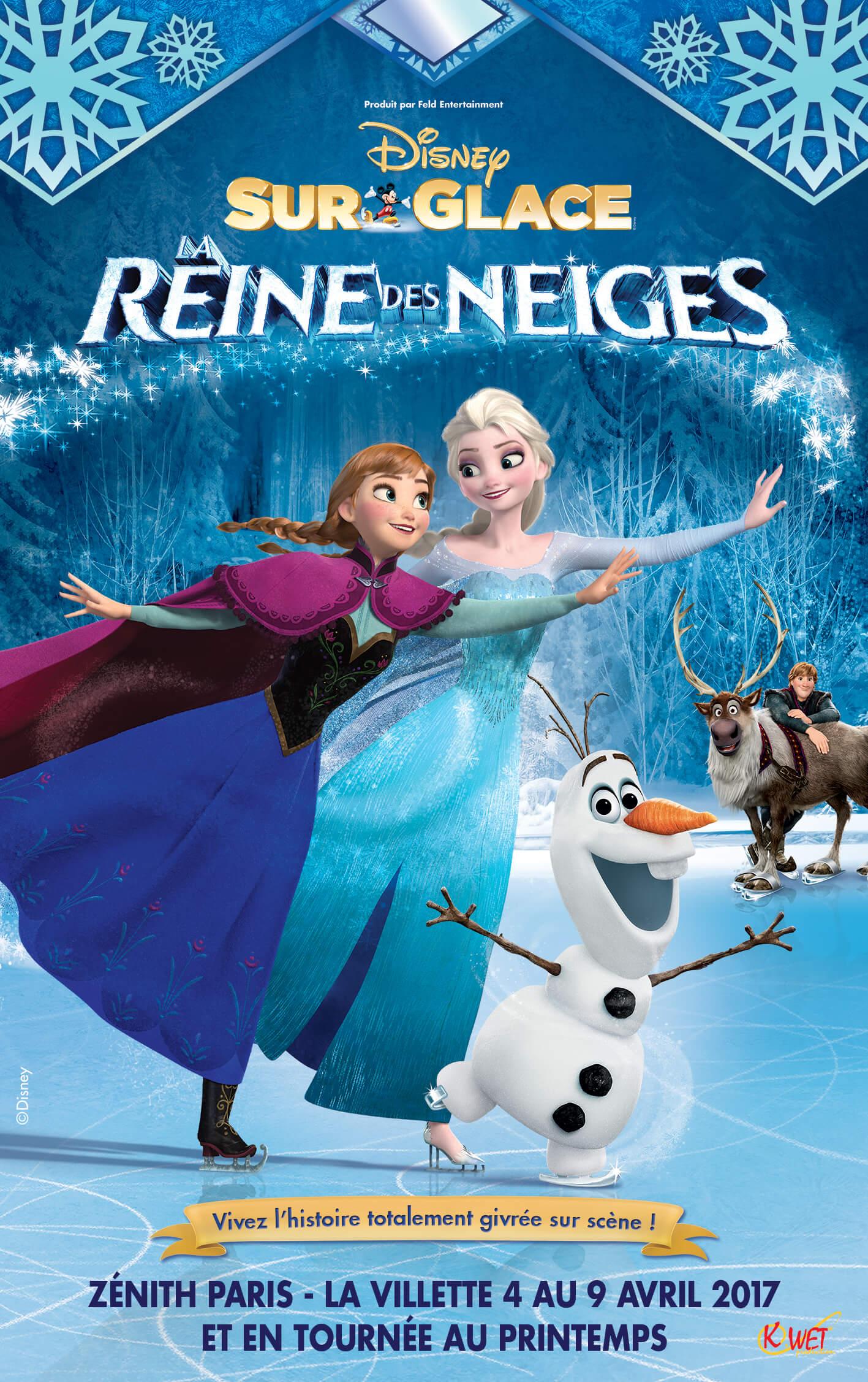 Disney Sur Glace - La Reine des Neiges